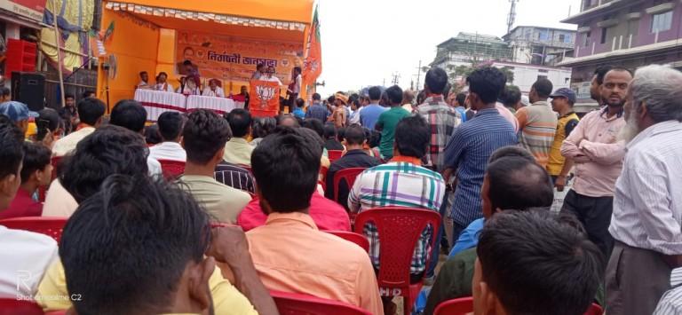 জনগনের দাবি : বদরপুরে রেলওয়ে ডিবিশন,  গুহাটি - আগরতলা রোডের বদরপুর ঘাটে ফ্লাইওভার ব্রিজ  তৈরী করেবে : বিশ্বরুপ ভর্ট্যাচার্জ