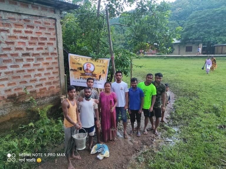 জনসাধারণের ডাকে সাড়া দিল পাচগ্রাম এর মনুষ্যত্ব NGO
