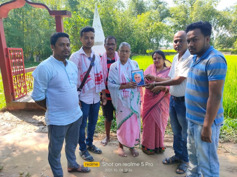 ভারতীয় জনতা যুব মোর্চা দুর্লভছড়া মণ্ডলের উদ্দোগে